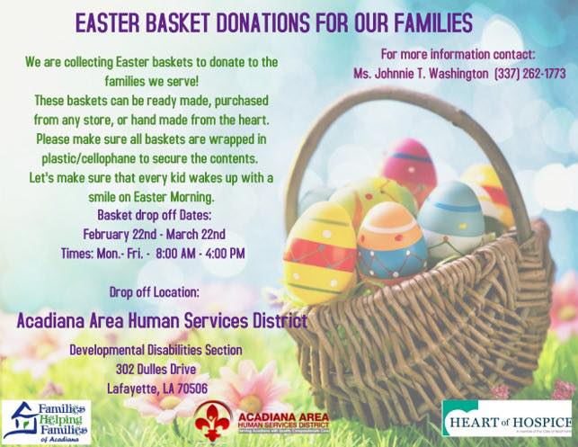 Easter Basket for Families