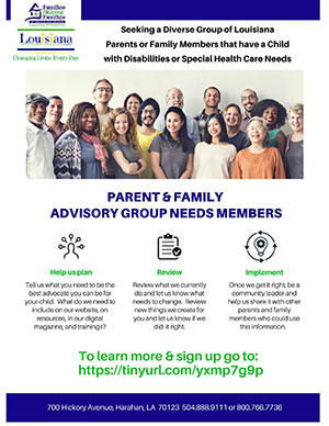 Parent & Family Advisory Group
