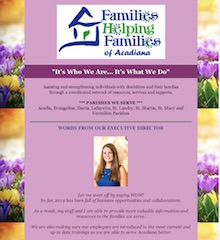 Families Helping Families Spring Newsletter 2019