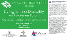 Living with a Disability - An Awareness Forum